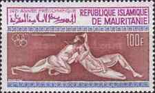 Timbres Sports JO Mauritanie PA110 * lot 3800