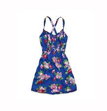 BRAND NEW HOLLISTER WOMENS DRESS SUN SUMMER TUNIC GOWN FLORAL VISCOSE TOP SZ S