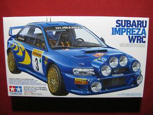 Subaru Impreza Colin McRae WRC 1998 Monte Carlo 1/24 Tamiya 98 Rally Racing Car