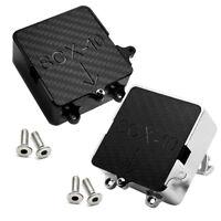 1x Aluminum Receiver Electronics Equipment Box for Axial SCX10 1/10 RC Crawler