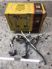 NOS Chrome Sturmey Archer Brake Caplier lever set Raleigh Dawes?