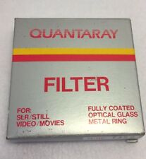 Quantaray Filter 58mm C-PL Circular Polarizer Japan SLR/Still Video/Movies w Box