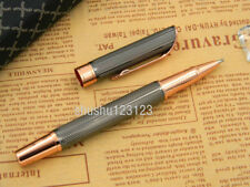 jinhao Gun gray Strip wave gift new metal rose golden Trim Rollerball Pen