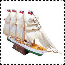 1:300 Esmeralda (BE-43) Chilean Navy Barquentine Ship Handcraft Paper Model Kit