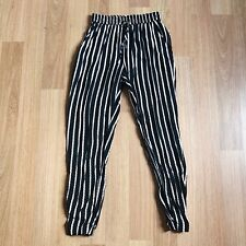 Witchery W24 Size 6 High Rise Elastic Waist Joggers Womens Pants Trousers