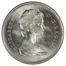 1967 Canada 25c Quarter - ICCS MS-65