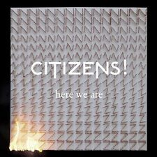 CITIZENS - HERE WE ARE  - CD  NUOVO