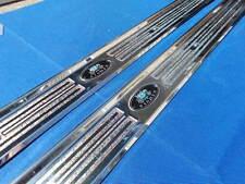 New 1967 68 69 Camaro Firebird Formula Trans Am Door Sill Plate Pair 7644760