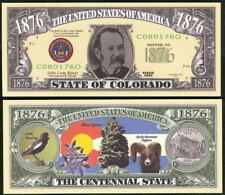 COLORADO STATE QUARTER NOVELTY BILL - Lot of 10 Bills