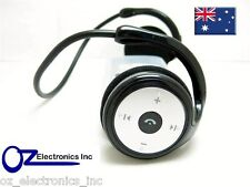 Bluetooth stereo Headphones for IPOD TOUCH & IPHONE SAMSUNG Huawei Motorola NEW