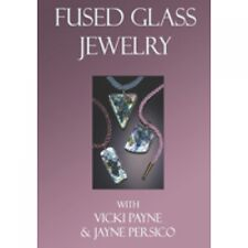 Stained Glass Vicki Payne Fused Glass Jewelry Dvd New