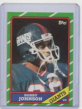 1986 Topps #142 - BOBBY JOHNSON