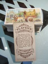 "PLAYERS "" BRITISH EMPIRE SERIES 1904"" FULL SET NICE CARDS [s]"