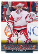 2013-14 Upper Deck Young Guns Petr Mrazek Rookie RC # 466 UD Maple Leafs YG