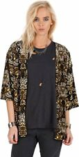Volcom Wallflower Long Sleeve Throw Vintage Cardigan Top Size Large $65 NG27