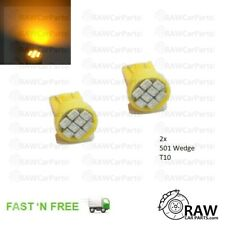 2x Amber LED 501 Wedge T10 Side Repeater Indicator Bulb for Honda Civic EG EJ EK