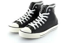 Converse Chuck Taylor AS Hi Black Grey Edge Leder 42,5 / 43,5 US9