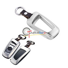 Aluminum Remote Smart Key Fob Holder Cover For BMW 1 3 4 5 6 7 X1 X3 Series