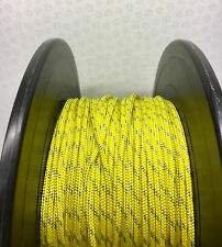 Kingfisher Dyneema 4mm gold Evolution SK78 Halyard / control line, Per mtr