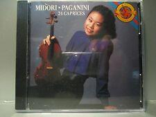 Paganini: 24 Caprices by Midori [Audio CD] Brand New