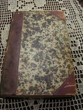 "1856 Blackwood Magazine July-Dec. 9 3/4"" x 5 3/4"" Book Sold in As/Is Condition"