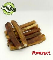 "Bully Sticks Thick /Jumbo 6""Natural Dog Chew -FDA & USDA APPROVED- BRC CERTIFIED"