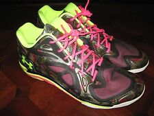 UNDER ARMOUR ANATOMIX SPAWN LOW BASKETBALL SHOES 1249196 020 MENS SZ 18 NWOB