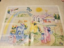 My Little Pony Vintage G1 80s apology poster back order