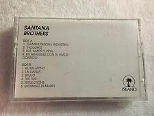 Extremely RARE !!!  Santana - Brothers - Promo Cassette Tape - 1994 Island    #5