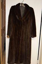 Final Sale!Full length mink fur coat. great condition, sz 8