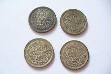 MONNAIE ARGENT  10 CENTS  PAYS BAS   1943  - TTB+   !! (achat unitaire) !!