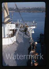 1964 kodachrome photo slide Aboard Ship MS Gripsholm #12 bon voyage