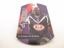 METAL TAGS Football LIGUE 1 France 2008 #11 - Alou Diarra FC Girondins Bordeaux