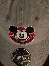 size 40 b453b d0b35 Disney Adult Adjustable Mickey Mouse Baseball Caps - 90 Years