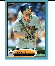2012 Topps Wal-Mart Blue Border #240 David Wright New York Mets