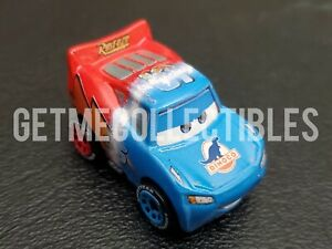 DISNEY PIXAR CARS MINI RACERS TRANSFORMING MCQUEEN BOX #1 2021 FREE SHIP $15+