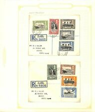 [OP3394] St Lucia lot of covers on 12 pages