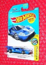 2017 Hot Wheels 2016 Ford GT Race #166 HW Speed Graphics  DTW92-D9B1H  H case