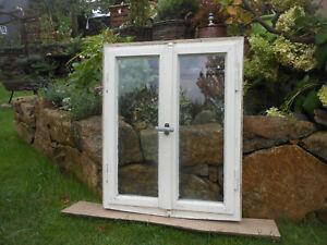 altes Fenster mit Rahmen einbaufähig Deko Shabby