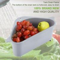 Triangle Storage Holder Multifunctional Drain Shelf Kitchen Multi-purpose Basket