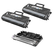 TN-360 DR-360 3pk Set Black Toner Cartridge & Drum Unit for Brother MFC-7840W