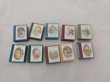 Hallmark Keepsake Ornament Winnie the Pooh Book Collector Series Lot of 10