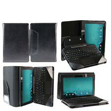 Classic Leather Case Cover Stand for Asus Transformer Pad TF303CL Tablet Black