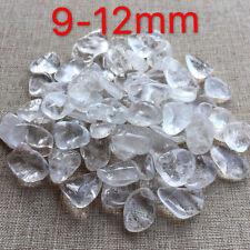 100g 9-12mm Natural Beautiful Irregular ice white crystal gravel YQYJ4