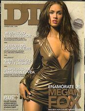MEGAN FOX Spanish DT Magazine 2/08 ADRIEN BRODY HILARY SWANK BAREFOOT