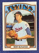 1972 Topps Set Break Bert Blyleven Minnesota Twins #515