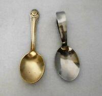 2 Vintage Baby Spoons, 1 Gerber Winthrop Silverplate, 1 Stainless