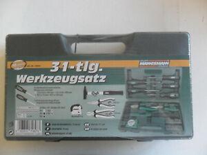 Werkzeugsatz Werkzeugset im Koffer 31 Teile Brüder Mannesmann