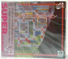 Police Connection (1993) New Factory Sealed Japan PC-Engine Super-CD Import