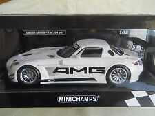 MINICHAMPS MERCEDES BENZ SLS AMG GT3  LIMITED EDITION 1 OF 504 RARE 1:18